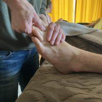 technique pied
